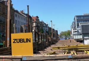 Verkauf eines Teiles der Bahnhofstraße an die Fa. Züblin / Strabag