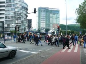 Der Haltestellenbereich soll näher an den Hauptbahnhof gerückt werden, was ca. 16 Mio Euro kosten soll.